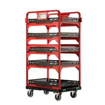 chariot utilitaire et logistique pour transport et manutention de l'inventaire | Drakkar International