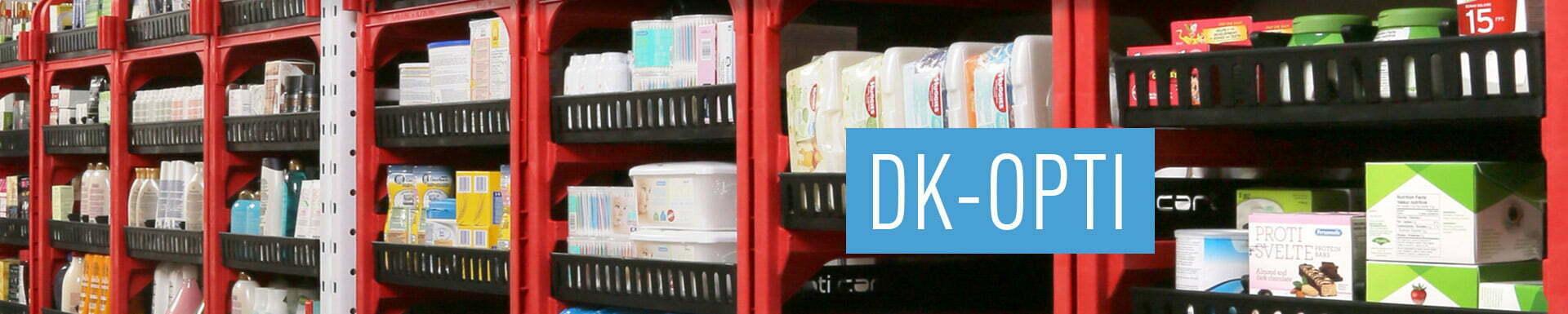 Chariot pour gestion d'inventaire DK-OPTI |Drakkar International