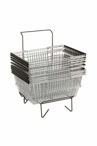 DK-BF03 - Support Panier à main épicerie - Panier de magasinage - Chariot Shopping 2